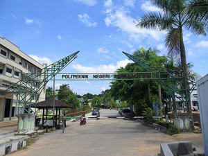 pintu gerbang politeknik negeri samarinda